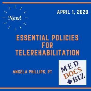 Essential Policies For Telerehabilitation Cd 300x300